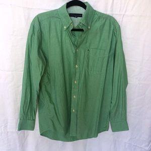 Tommy Hilfiger Green Button Down Shirt